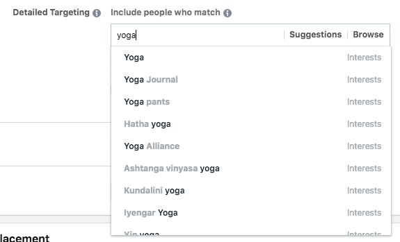 interesses secretos facebook